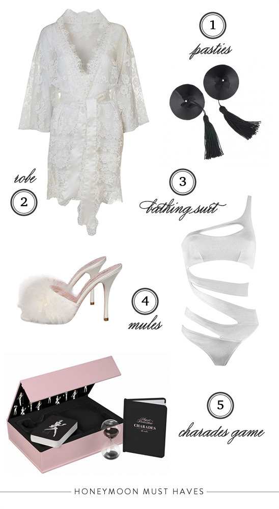 honeymoon must haves