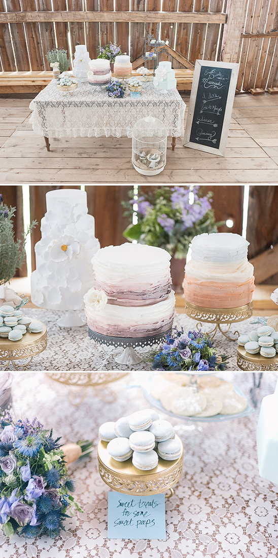Sweet Treats Cake Table