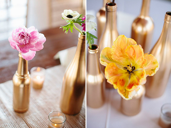 single stem floral decor