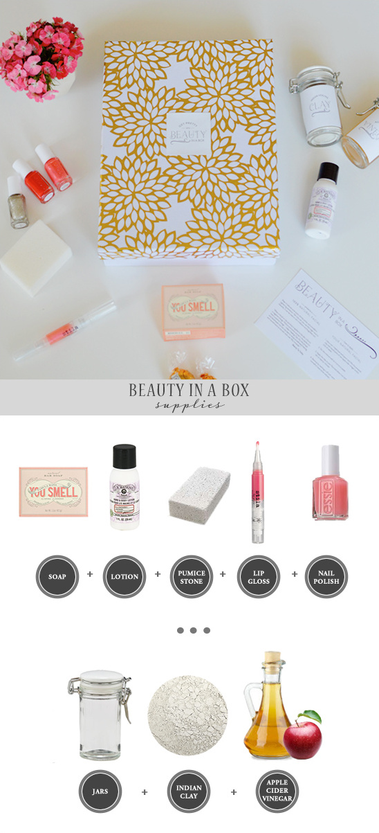 beauty box supply list