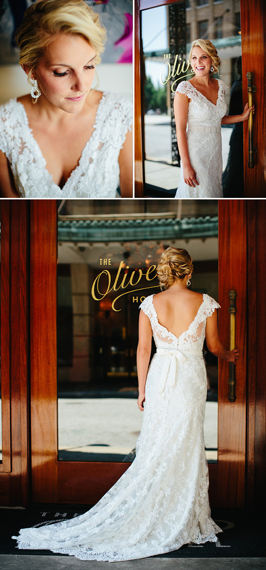 lace overlay wedding gown from Lows Bridal