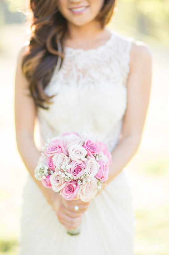 pink ombre rose bouquet