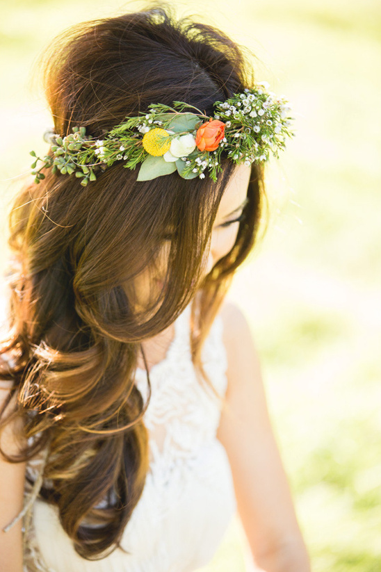 whimsical floral crown