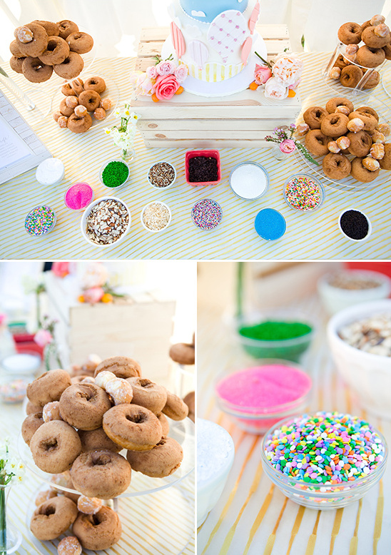 donut bar in place of a grooms cake