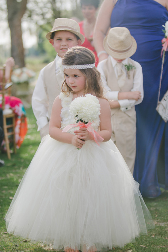 precious flower girl attire