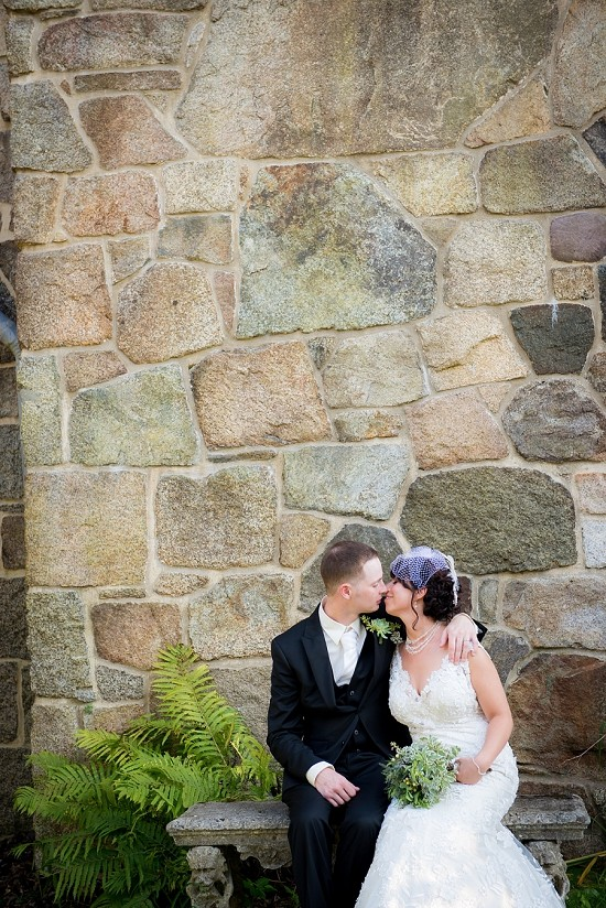 Rustic New England Wedding with Beautiful Vintage Details