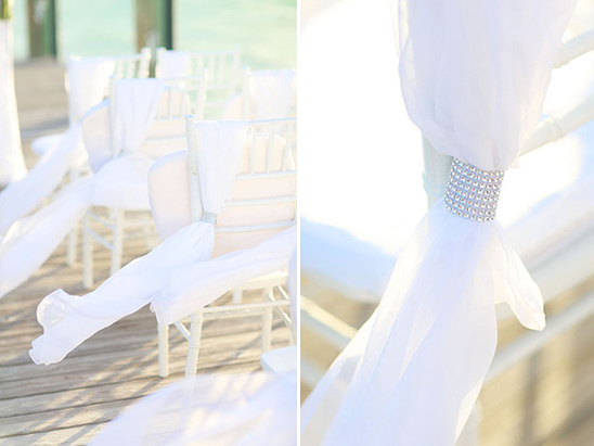 wedding ceremony chair decor