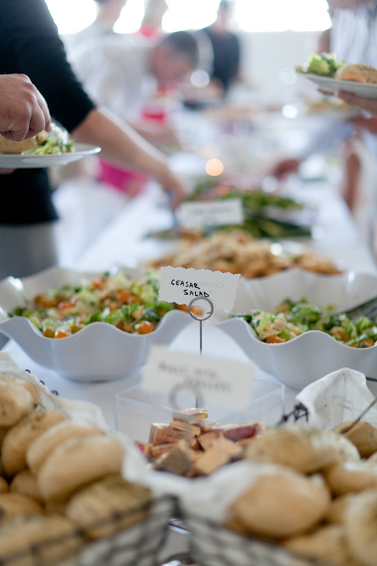 Buffet Style Reception Dinner Delicious Wedding Spread