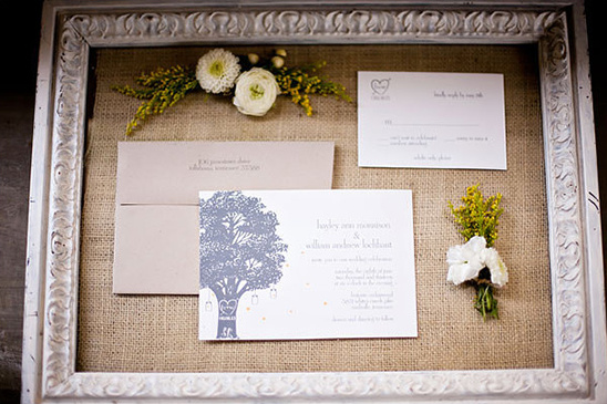 wedding stationery tree suite