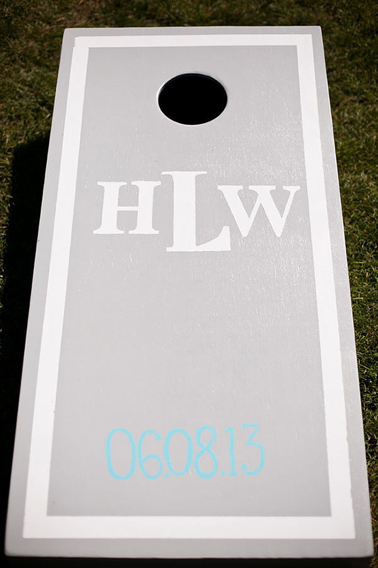 custom cornhole wedding game