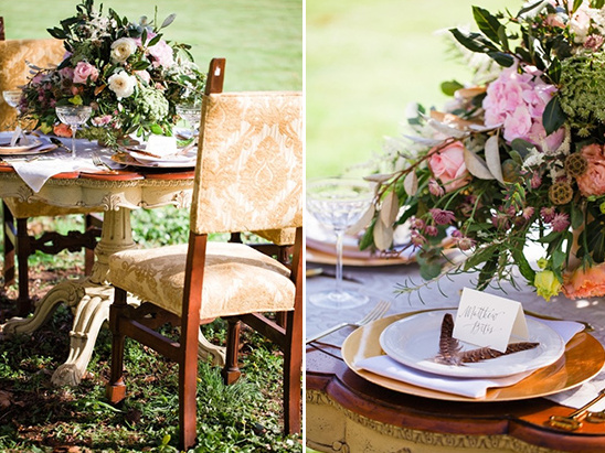 boho chic reception ideas