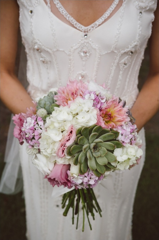 locally sourced wedding bouquet from Blue Planet Green Events