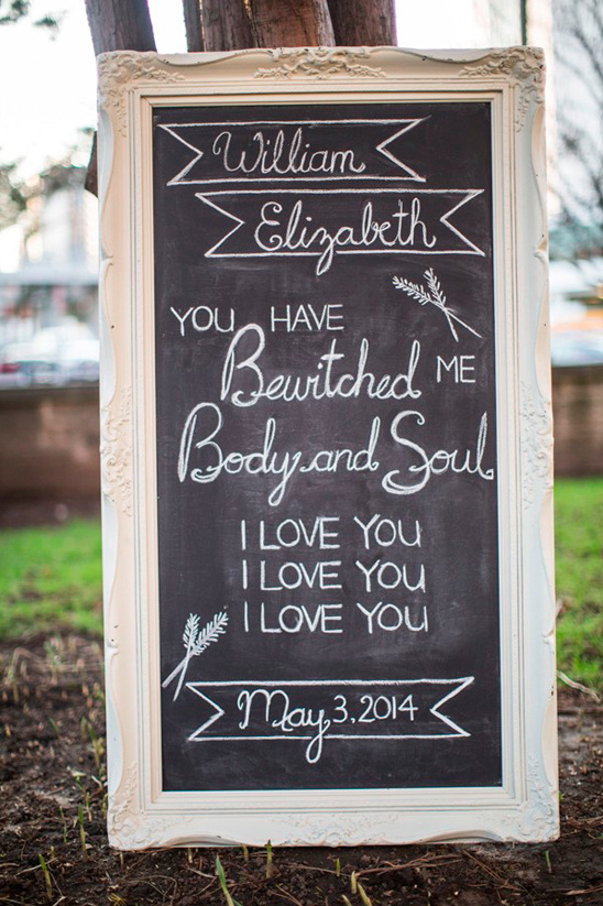pride and prejudice wedding sign quote