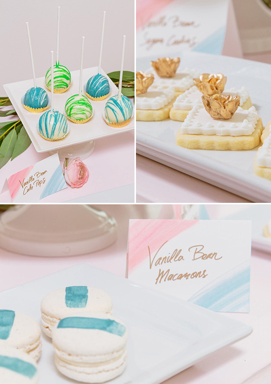 springtime wedding desserts