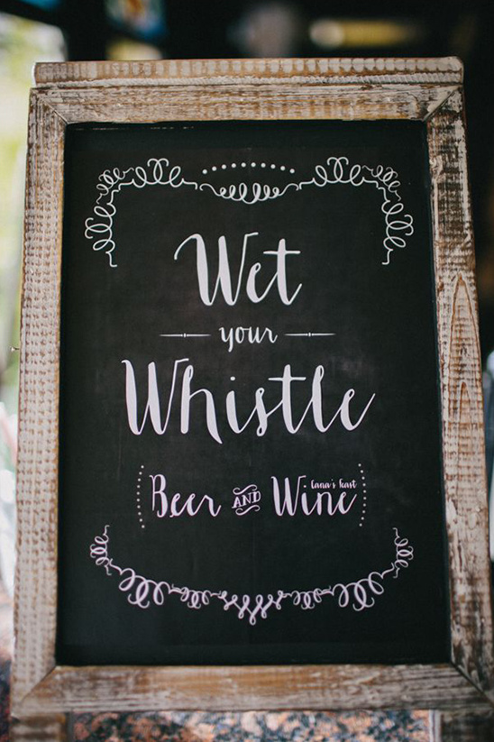 wet your whistle drinks sign