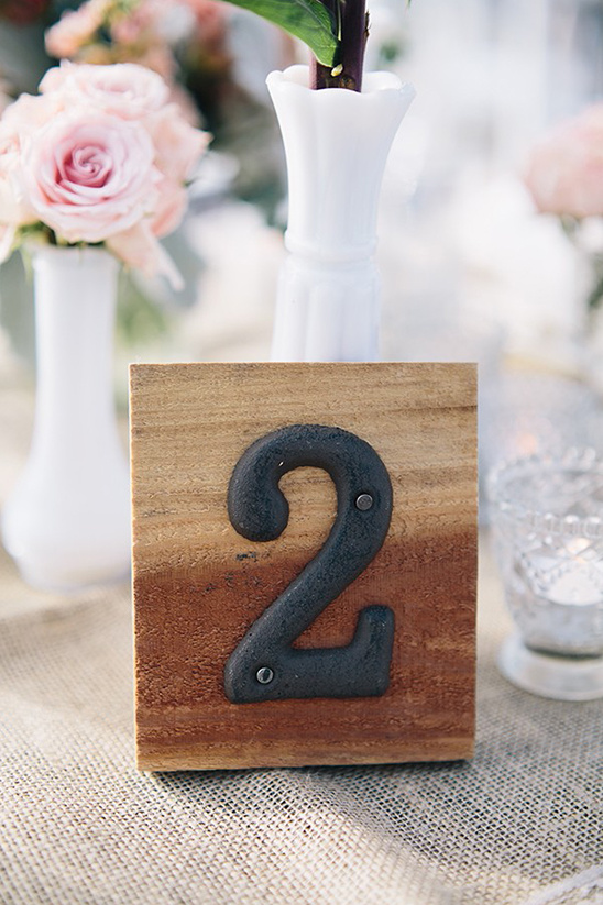 Make your own table numbers