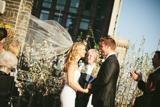 Modern & Classic Wedding at Midtown Loft and Terrace, NYC
