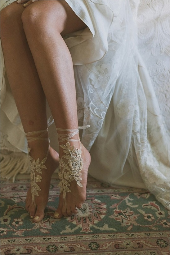 Bare Feet Boho Wedding