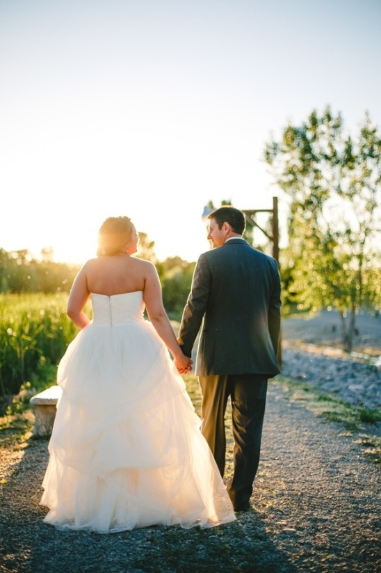 Rustic Ranch Wedding in Pink and White