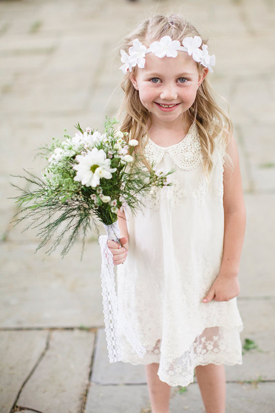 darling flower girl attire