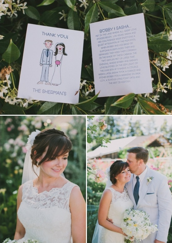 wedding day thank you note