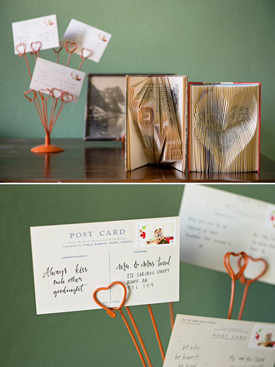 love and heart books with love notes