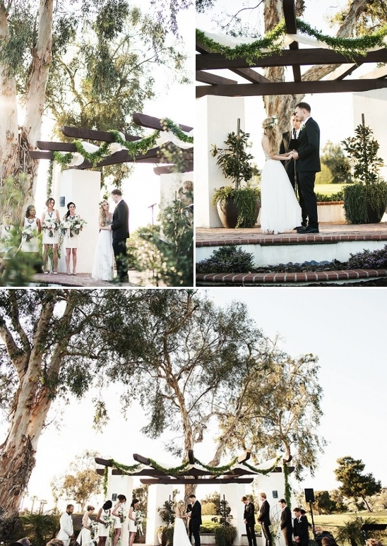 outdoor wedding in California