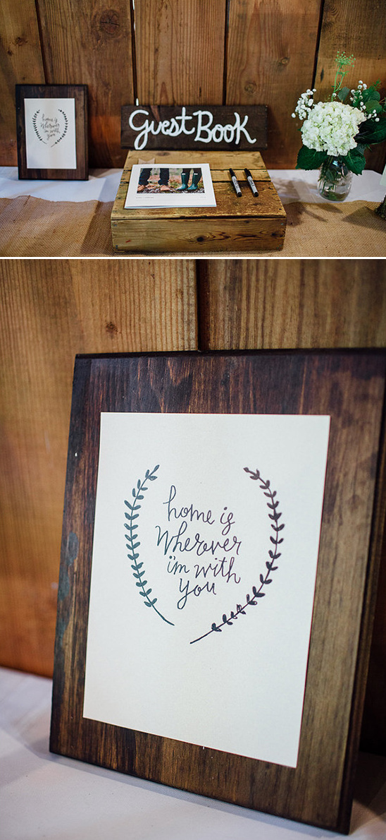 home is wherever i'm with you plaque