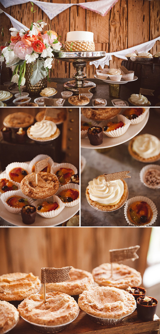small pies and sweet treats