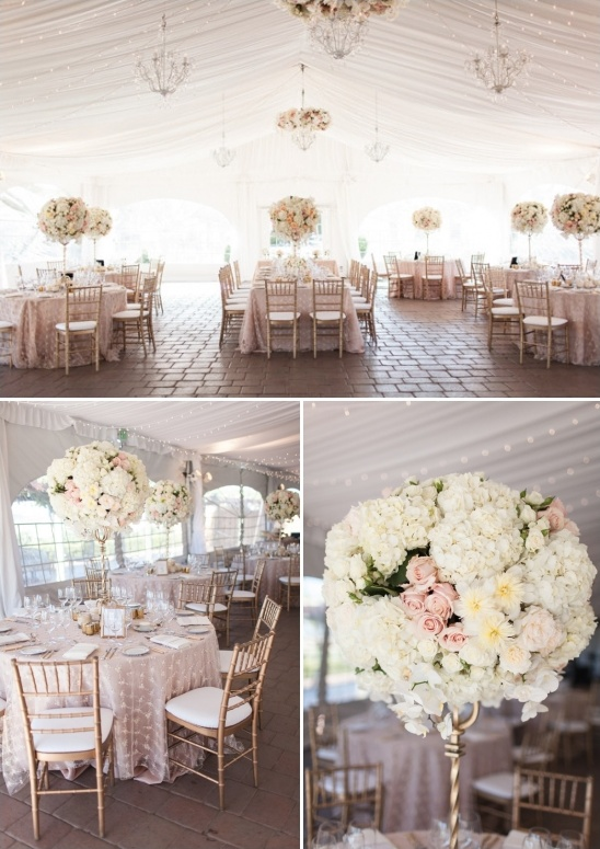 create a romantic atmosphere with enchanting floral decor