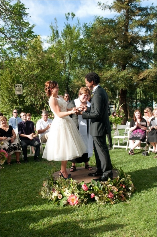 circular wedding ceremony