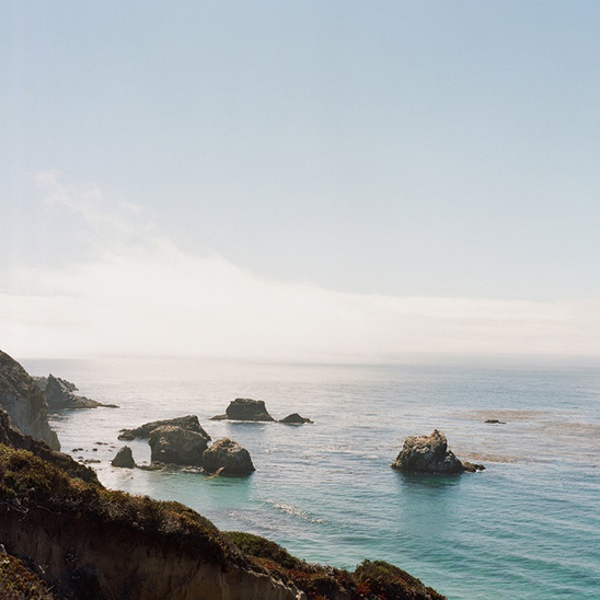 big sur wedding scenery