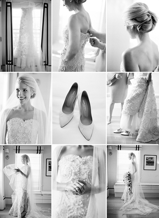 getting wedding ready captured by Jose Villa Photography