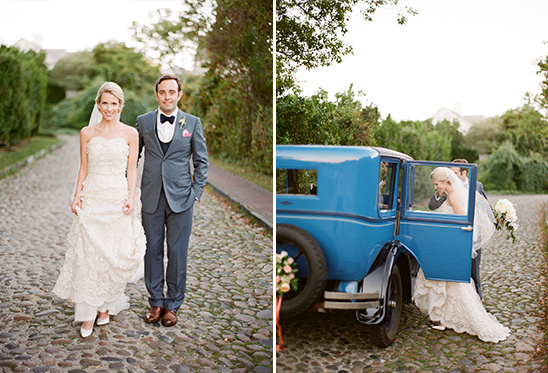 1930 Chrysler vintage wedding getaway car