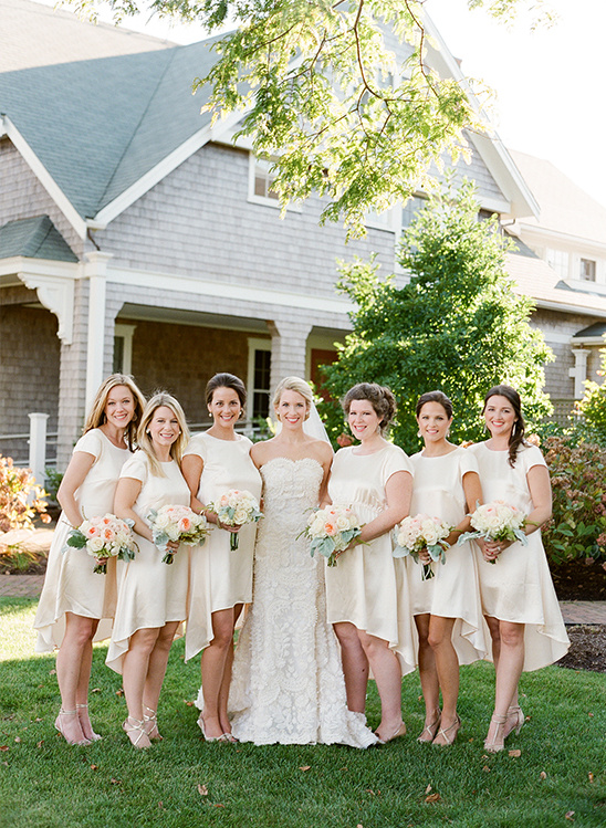 high low bridesmaid dresses