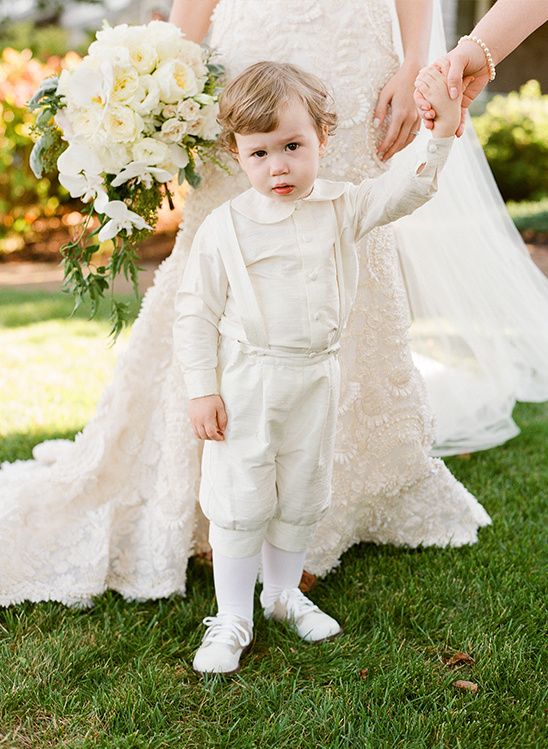 vintage wedding attire for the little ones