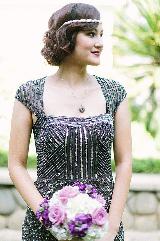 gatsby bridesmaid look