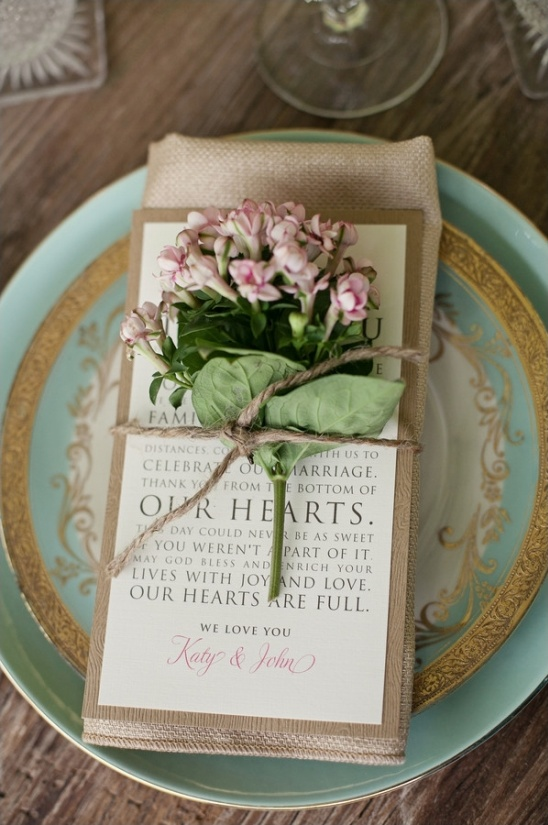 thank you notes from the bride and groom