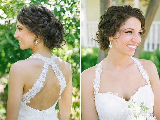 soft sweet bridal hair and makeup