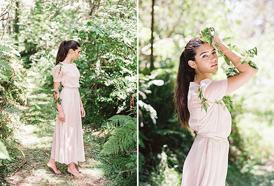 soft pink delicate dress