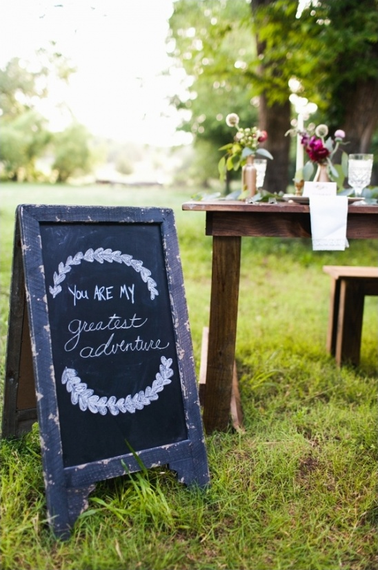 you are my greatest adventure chalkboard sign