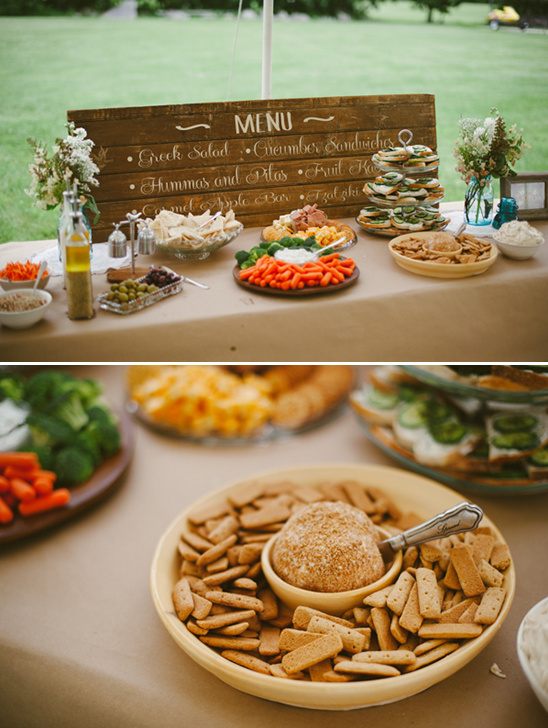 what to server at a bridal shower for lunch