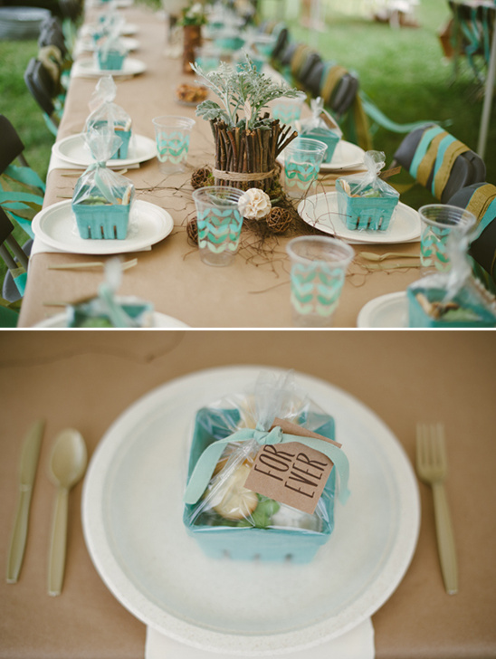easy bridal shower decorations