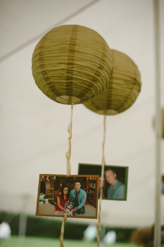 chinese lantern photo display