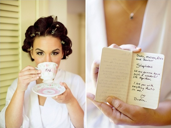 Tea Party Inspired Wedding