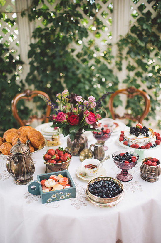 breakfast wedding ideas