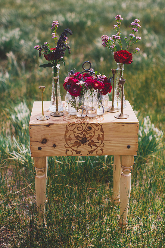 rustic wedding floral ideas