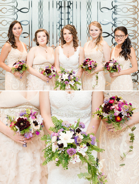 champange bridesmaid dresses