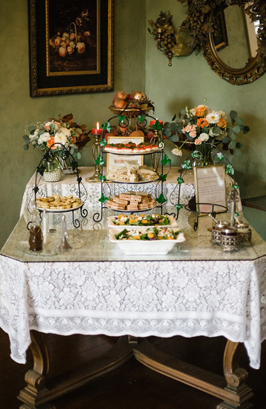bridal tea party brunch