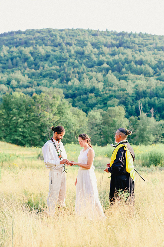 wide open spaces ceremony